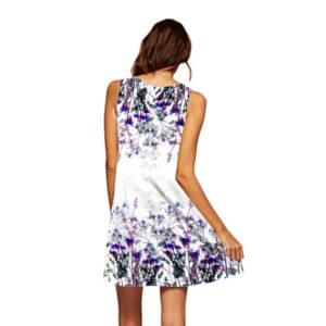 vestido estampado floreado vintage ropa en oferta